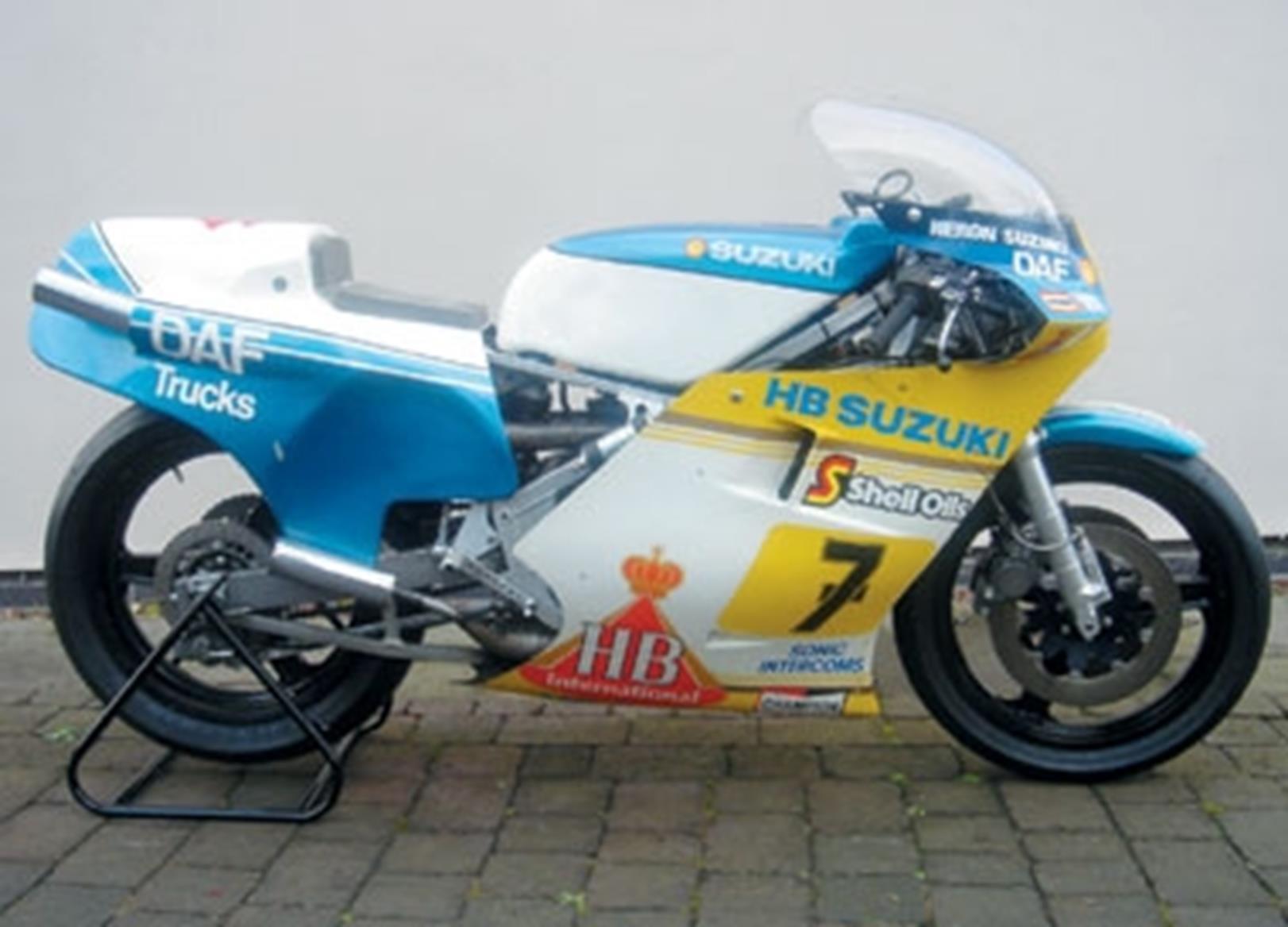 Sheene Xr on 1980 Suzuki Gs550e