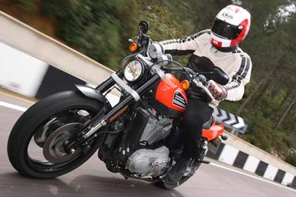 Harley-Davidson XR1200R action