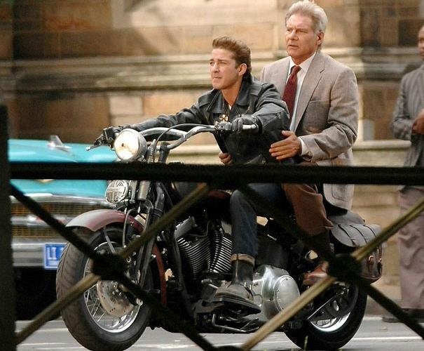 Harley Davidson Softail Springer features in Indiana Jones and the