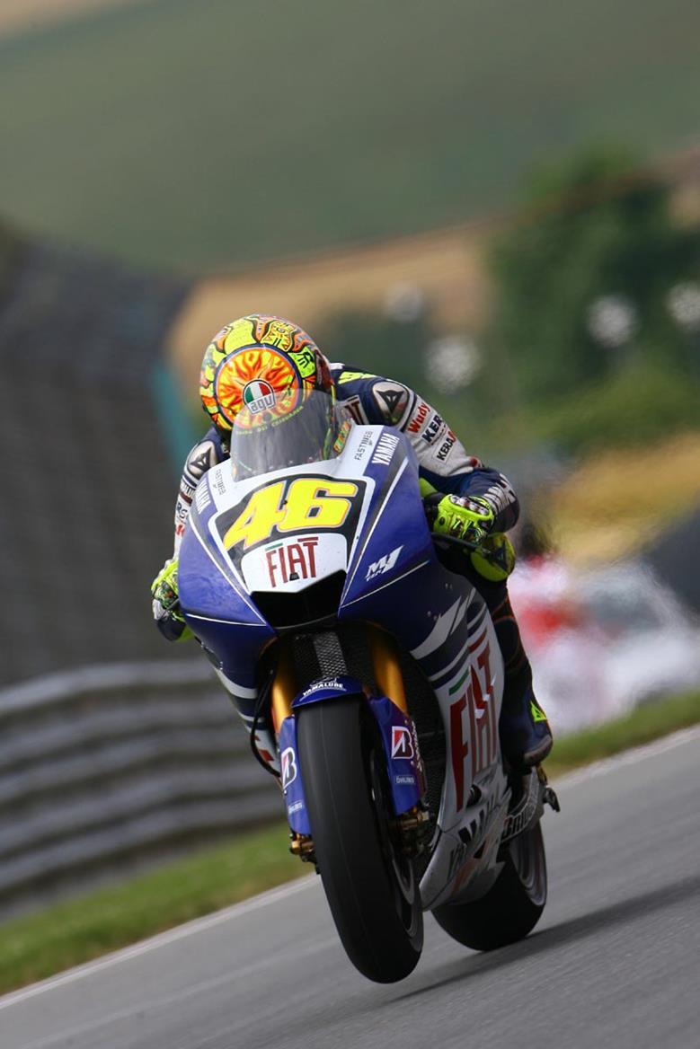 Valentino Rossi Sachsenring