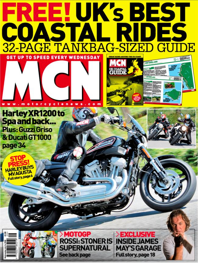 New Mcn July 16 The Harley Davidson Xr1200 Takes On Its