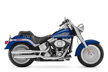 Harley-Davidson Softails tweaked for 2009
