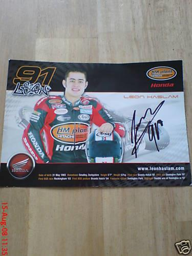 Charity Auction: Signed James Toseland & Leon Haslam merchandise | MCN