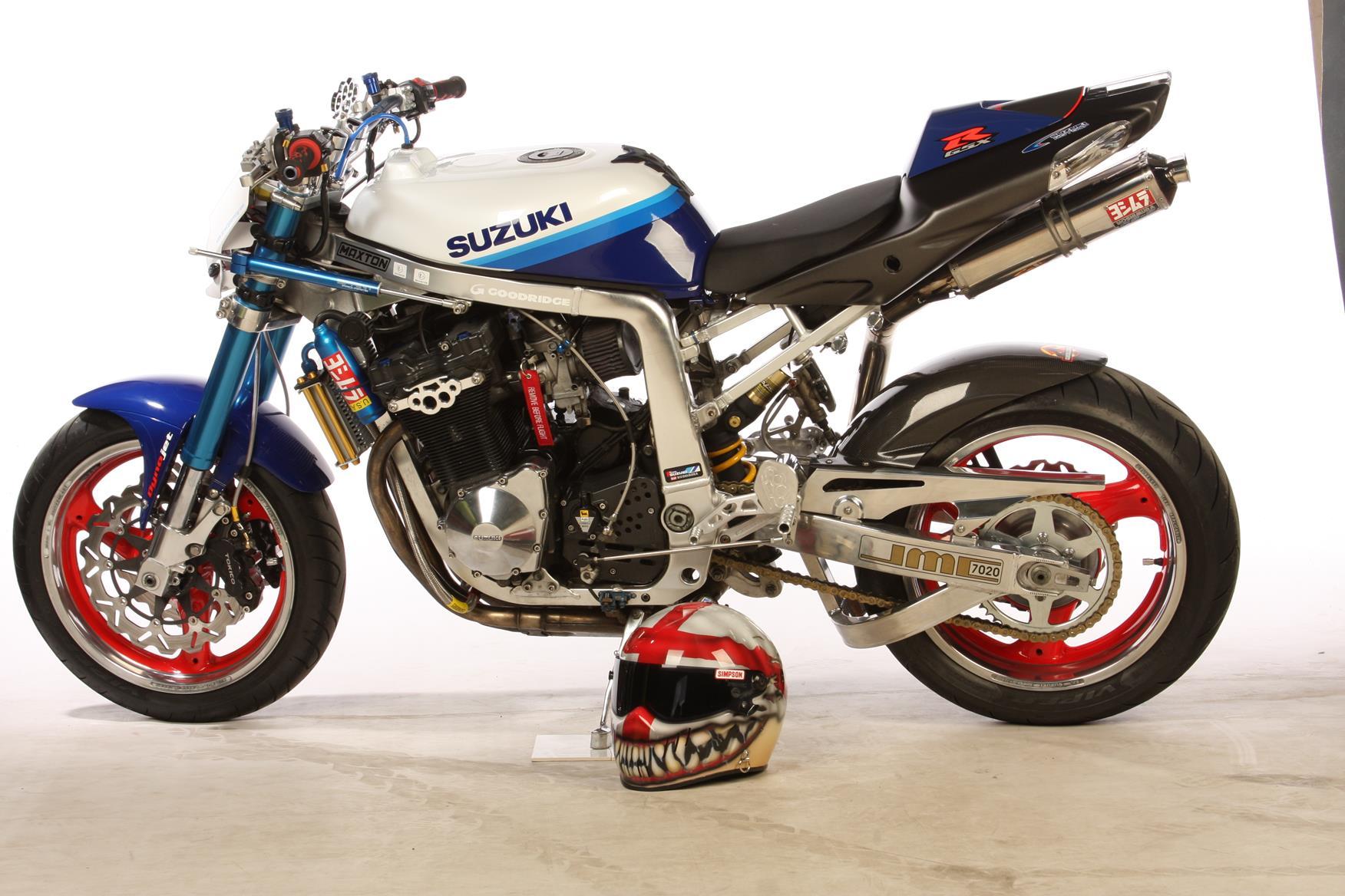 gsxr streetfighter fighter motorcycle 1100 suzuki gsxr1100 cafe racer google bikes mcn