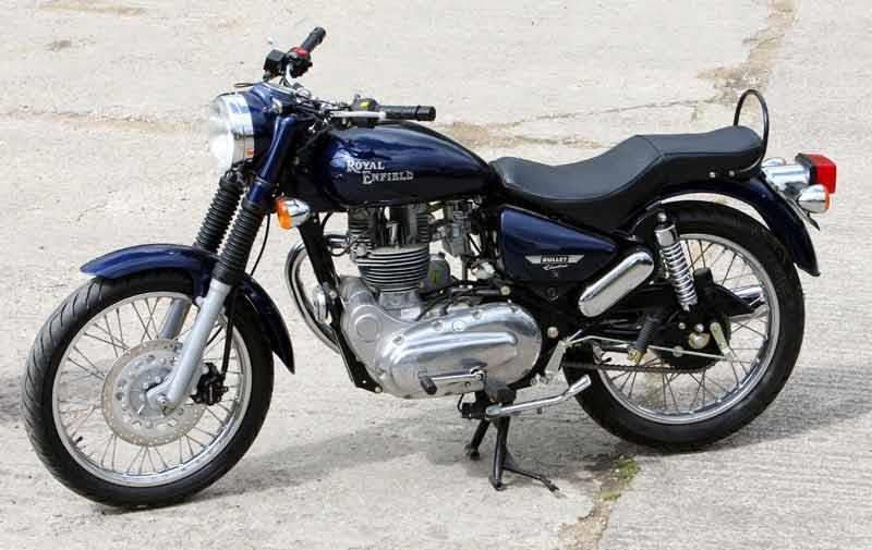 Enfield 500 Bullet Electra Efi 2008 On Review