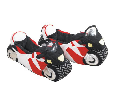 Motorcycle slippers would make a great stocking filler this Christmas ...