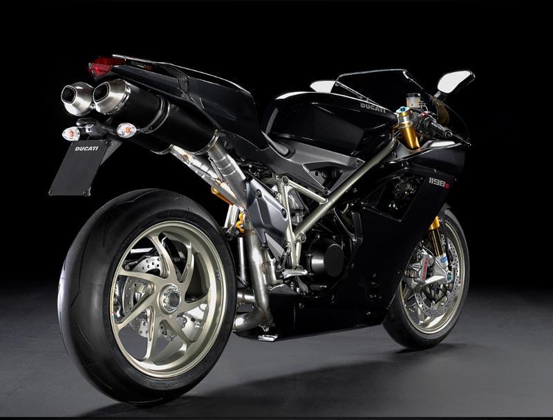 Ducati 1198 Panigale Black Ducati 1198s Black Rear