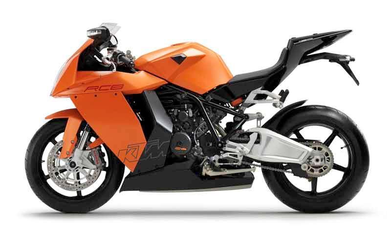 KTM to debut RC8 R in 2009 German superbike series | MCN