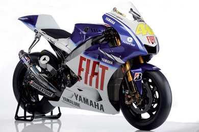 Rossi S London Show Bikes 2009 Fiat Yamaha Yzr M1 800cc Mcn
