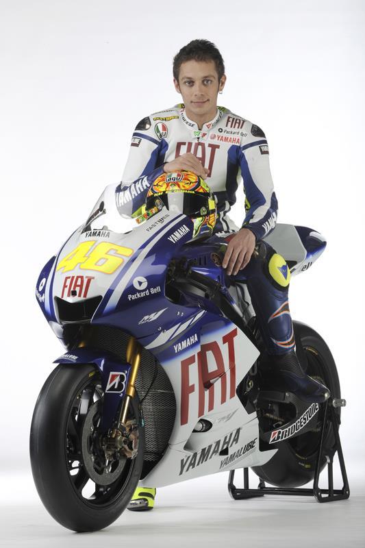 Yamaha unveil Valentino Rossi's stunning new 2009 YZR-M1