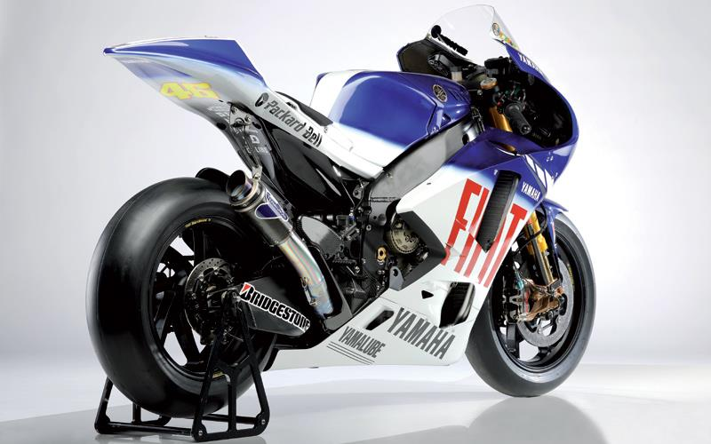 Yamaha unveil valentino rossi s stunning new 2009 yzr m1 mcn for Yamaha m1 for sale