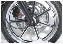 Bonneville SE mag wheels