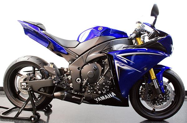 graves exhausts for the 2009 yamaha r1 and r6 mcn