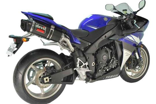 Devil exhausts for new Yamaha R1 and Suzuki GSX-R1000 | MCN