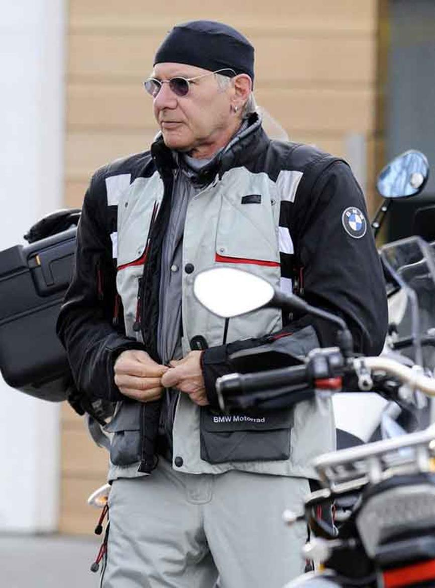 Holiday Ford Peterborough >> Harrison Ford spotted on BMW R1200GS | MCN