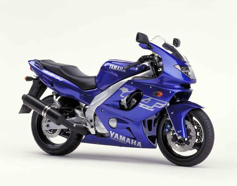 Blue Yamaha Thundercat