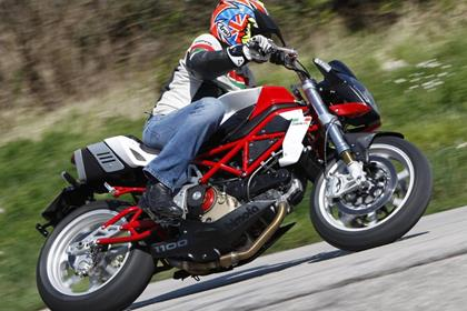 Bimota DB6R - dances through tight turns