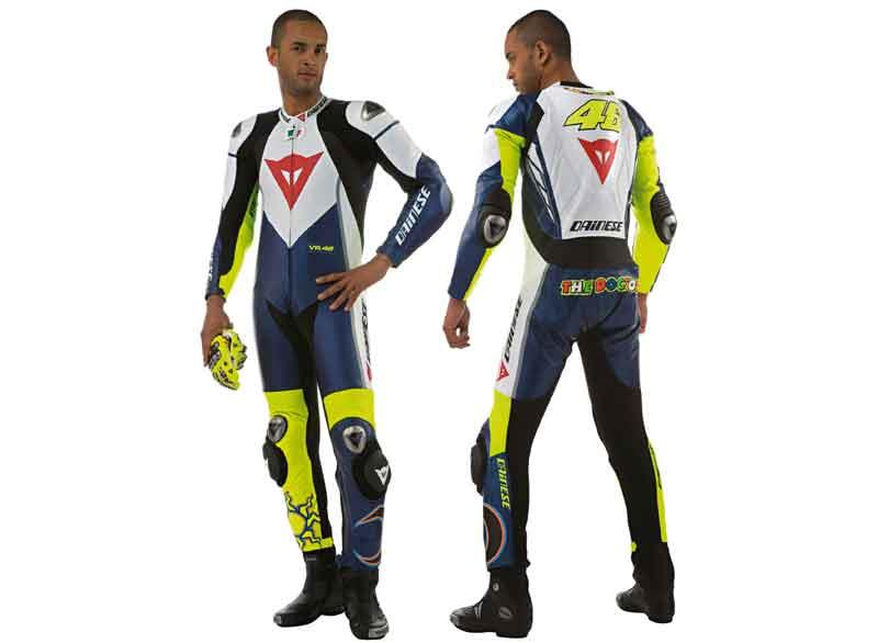 Dainese Launch Rossi Replica Riding Kit