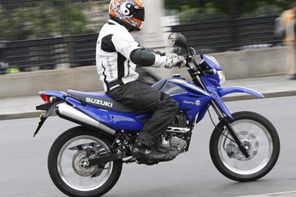 Suzuki DR125SM - does what it says on the tin