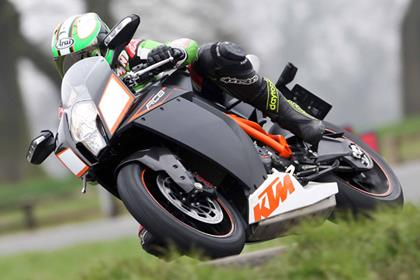 KTM RC8R - styled to be different, made to please