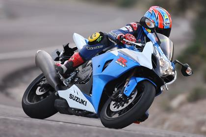 Suzuki GSX-R1000 - comfortable and very stable on the road