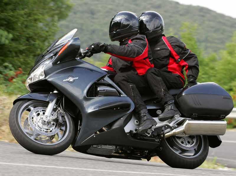 St1300 Honda Test Honda St1300 Pan European