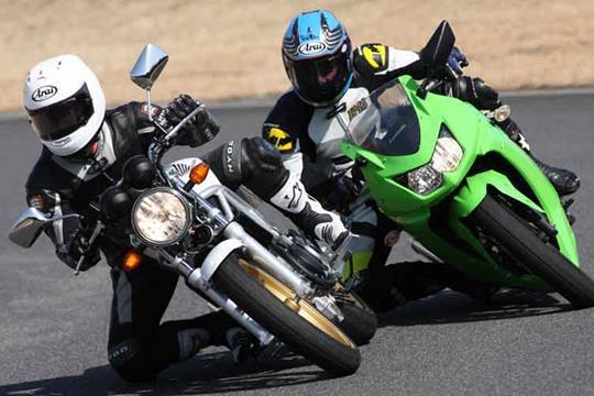 Kawasaki Ninja 250R V Honda VTR250