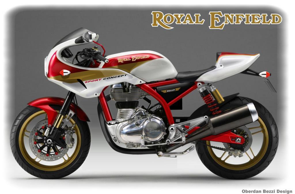 Royal Enfield Bullet Sport Concept Mcn