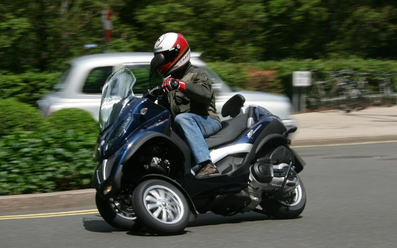the scooter the law says is a car | mcn