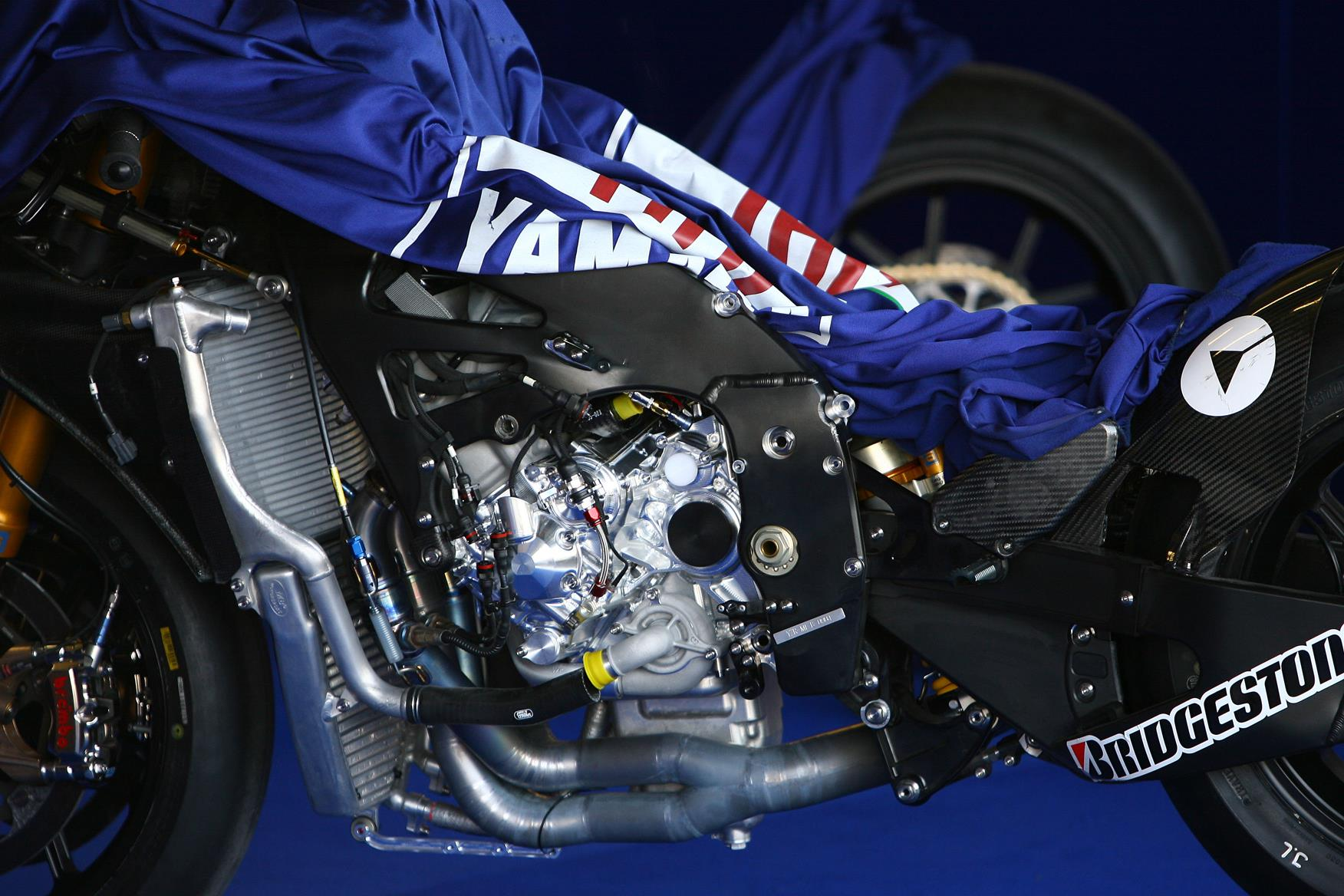 Rossi Is Due To Test A Revised M Motor