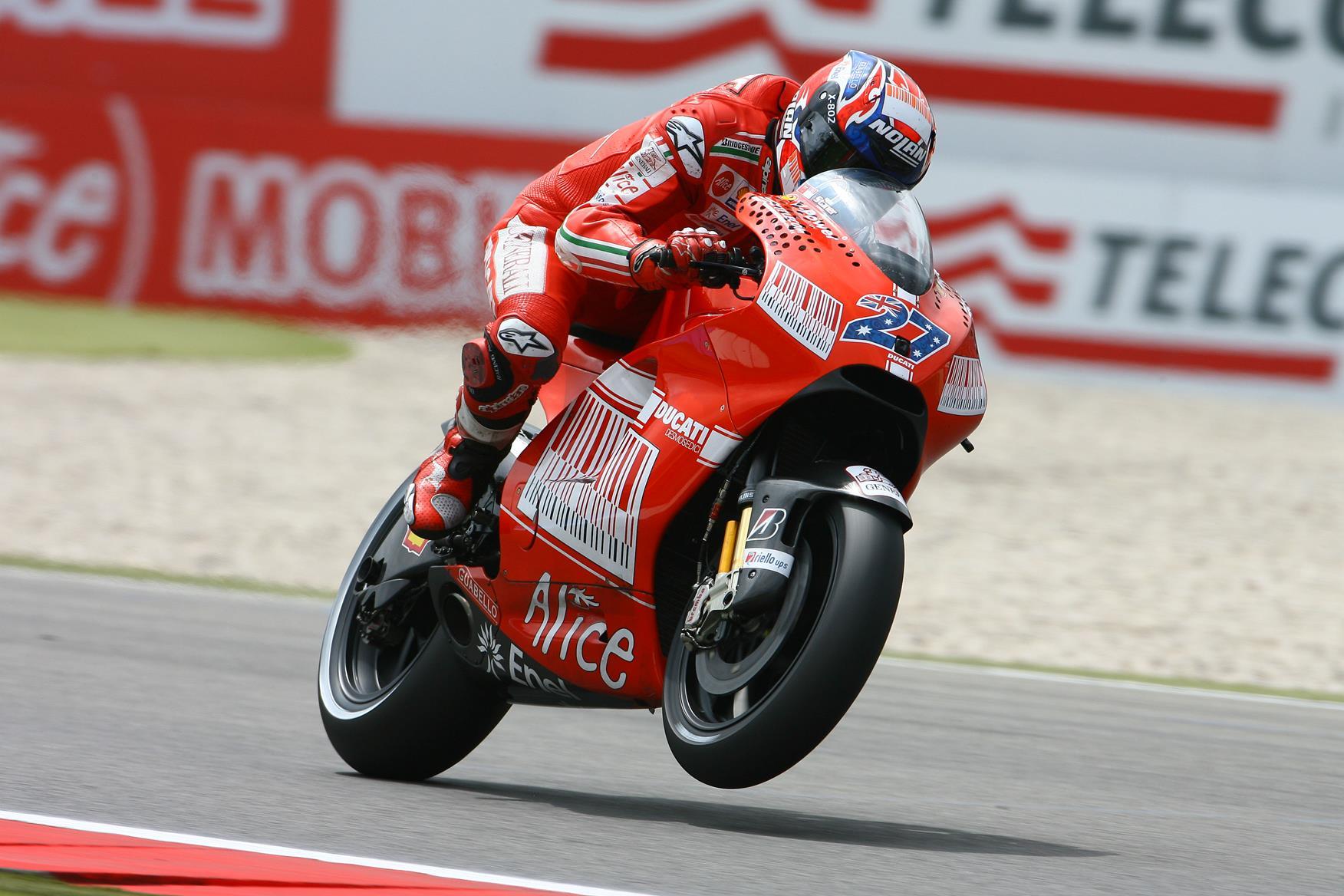 Assen MotoGP: Casey Stoner slams Sete Gibernau   MCN