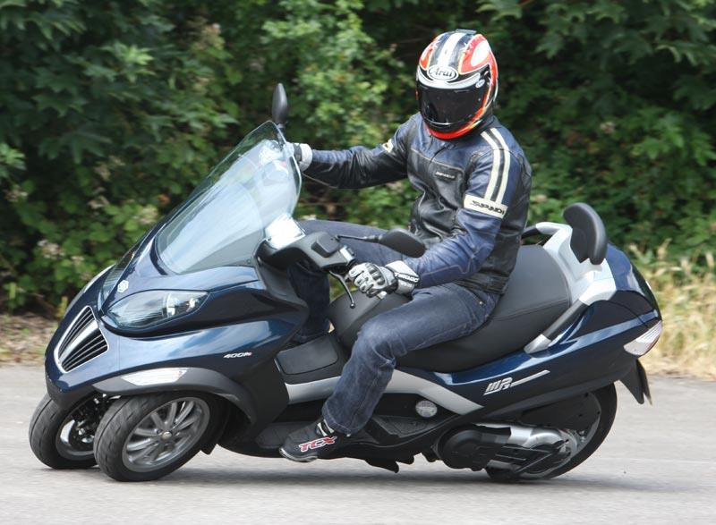 piaggio mp3 400 (2008-on) review | mcn