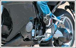 Honda V4 - engine & gearbox