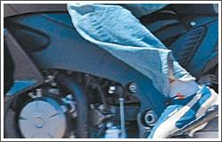 Honda V4 - frame