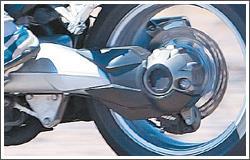 Honda V4 - shaft drive