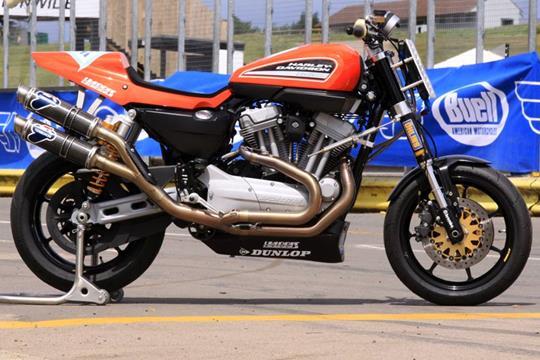 harley-davidson xr1200 race bike   mcn