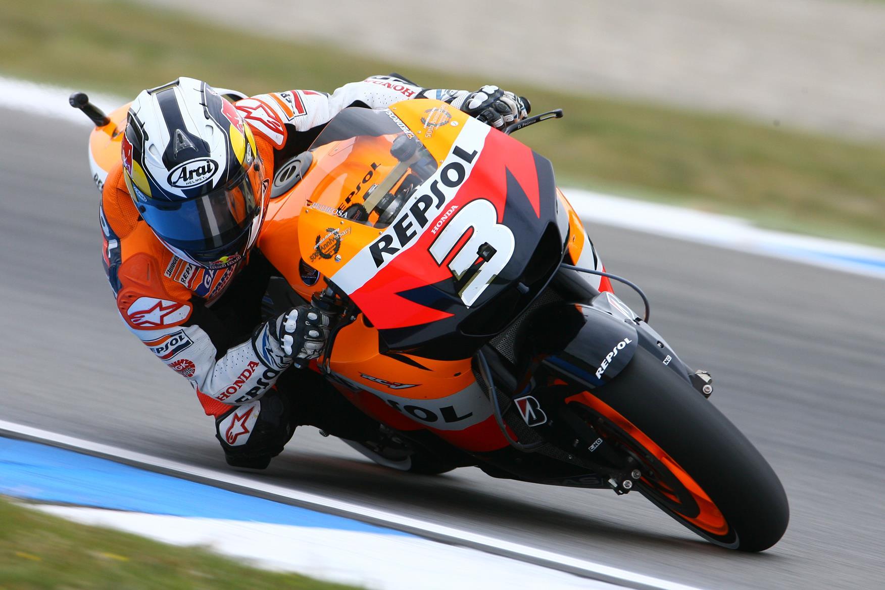 Read more about the Spanish rider on the Dani Pedrosa bio page..