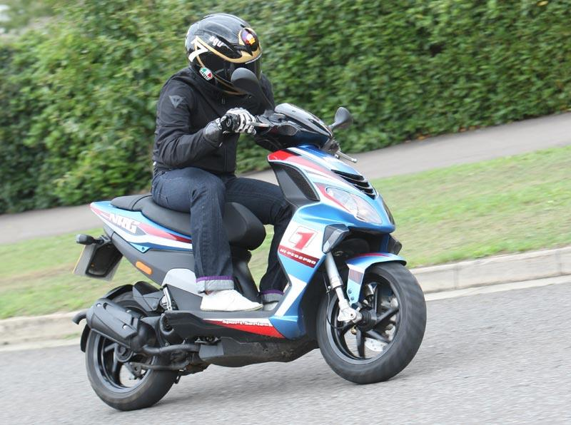 PIAGGIO NRG 50 (1999-on) Review | Speed, Specs & Prices | MCN