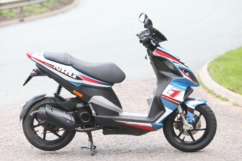piaggio nrg 50 (1999-on) review | mcn