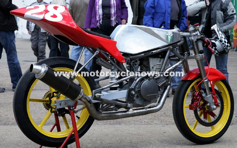 Mz S New 250cc Race Bike Revealed Mcn