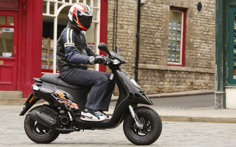 PIAGGIO TYPHOON 50 (1993-on) Review | MCN