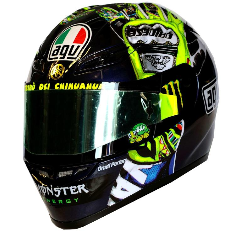 valentino rossi mugello agv helmet is here. Black Bedroom Furniture Sets. Home Design Ideas