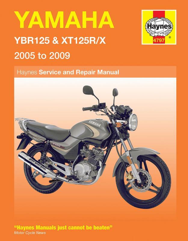 new yamaha ybr125  xt125 haynes manual mcn Yamaha YBR 125 Pakistan Yamaha YBR 125G