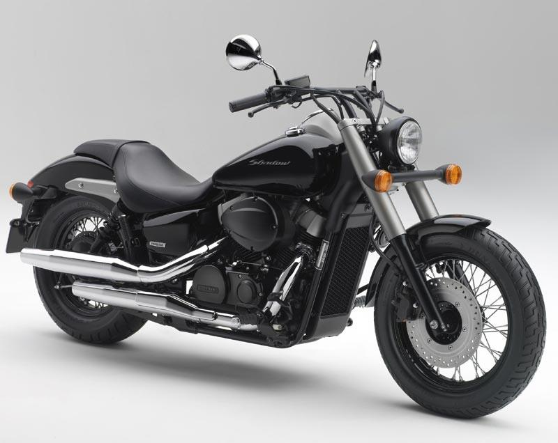 ... New Honda Shadow 750 Black Spirit Cruiser Has Lowest Seat In Class