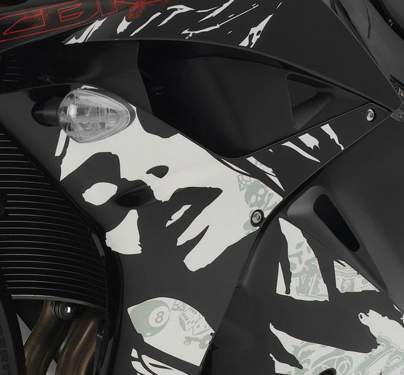 Did You Spot The Woman S Face In The 2010 Cbr600 Mcn