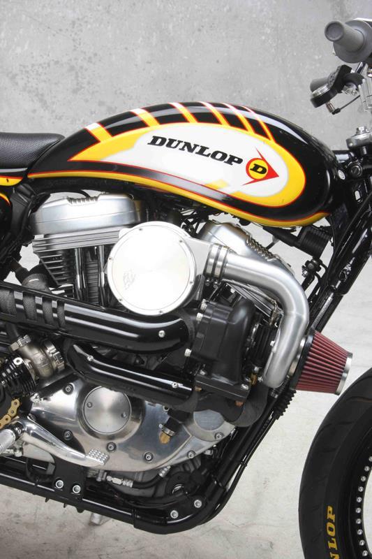 Madison : 1200 sportster turbo kit