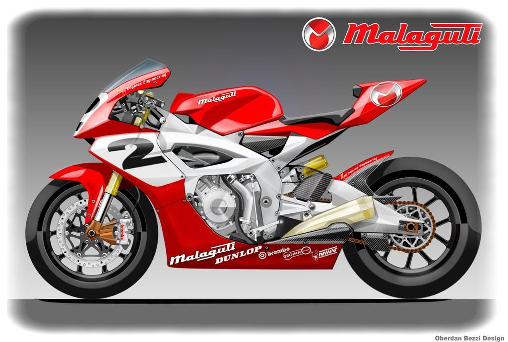 Malaguti Moto 2 bike   MCN