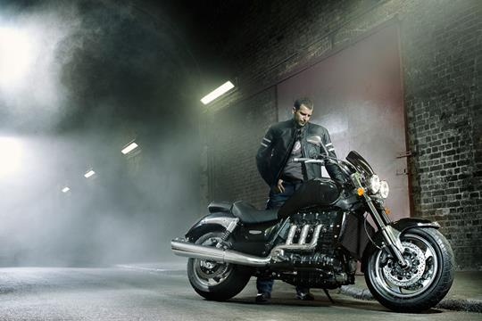 2010 triumph rocket iii: more power, torque, abs and a new name | mcn