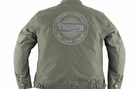 triumph to release mcqueen and brando jackets for 2010 | mcn