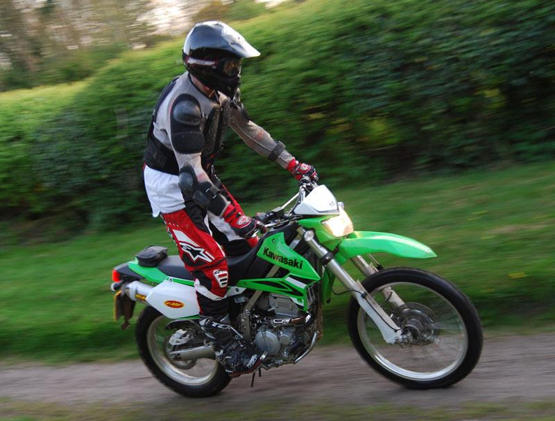 KAWASAKI KLX250 2009 On Review